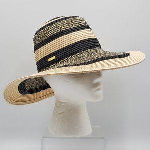Calvin Klein Floppy Hat–Metallic Threading Accent